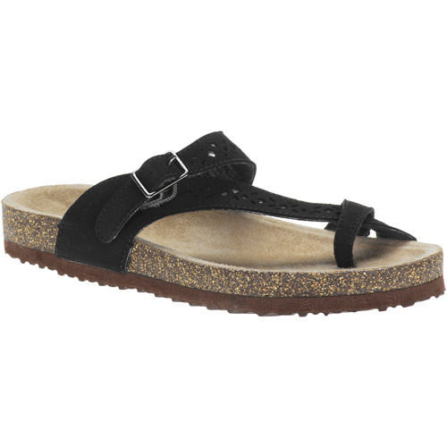 Faded Glory Women's Harness Toe Loop Sandals