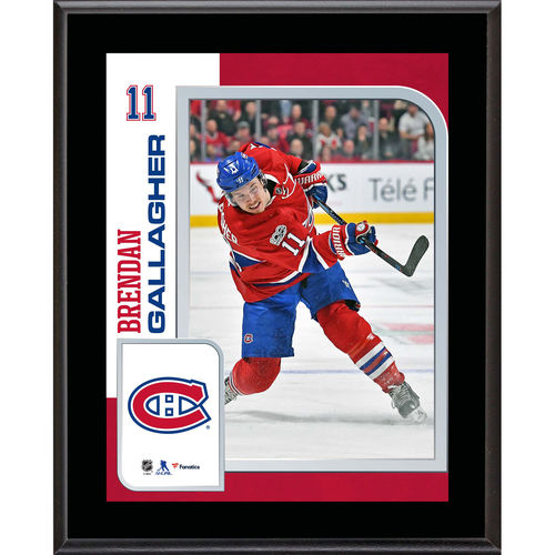 "Brendan Gallagher Montreal Canadiens 10.5"" x 13"" Sublimated Player Plaque - No Size"