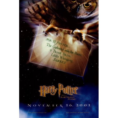 Harry Potter and the Sorcerer's Stone POSTER (27x40) (2001) (Style C)](The Druids And Halloween)