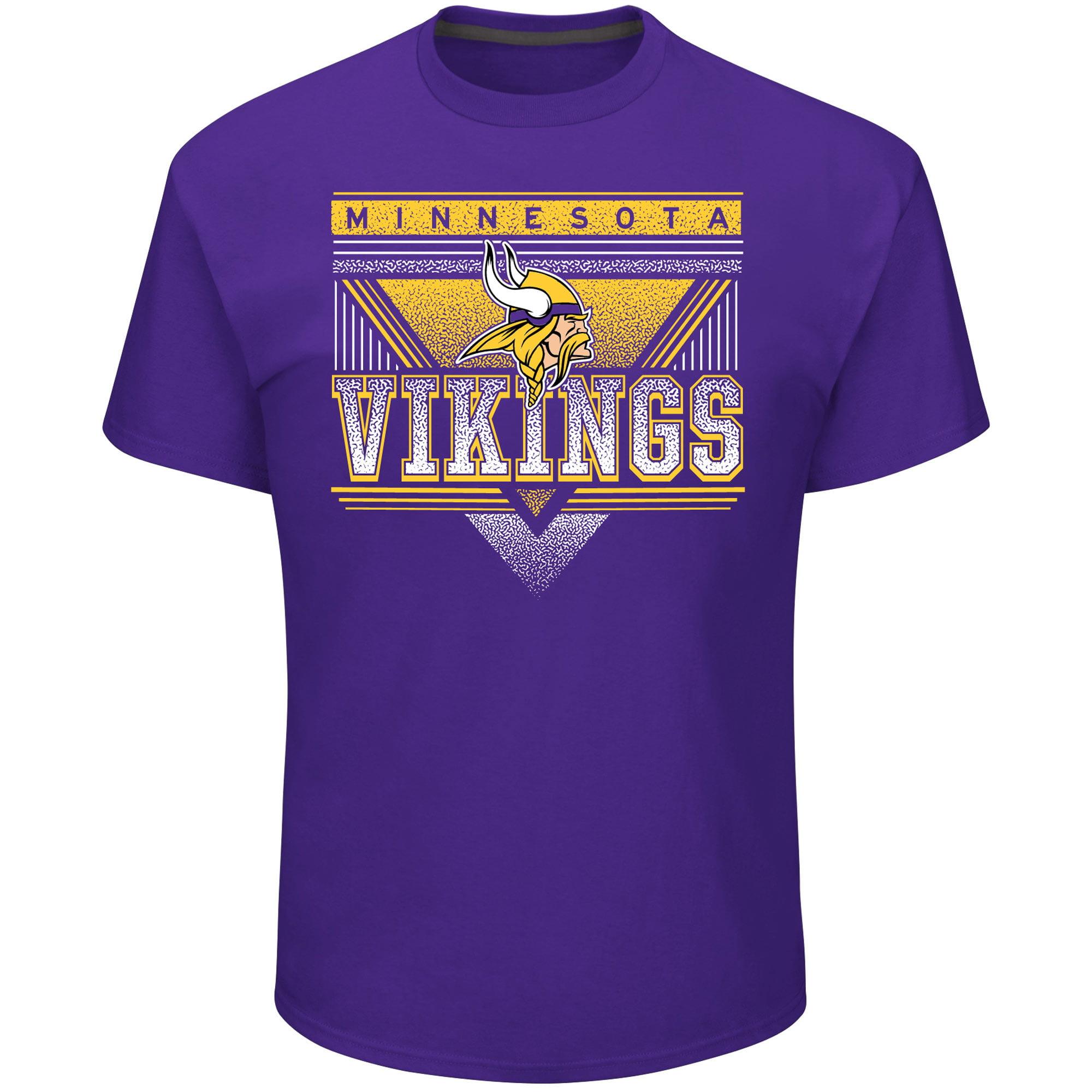 Minnesota Vikings Majestic Keep Score T-Shirt - Purple