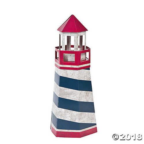 "Lighthouse Nautical Centerpiece (12"" X 5"") Cardboard"