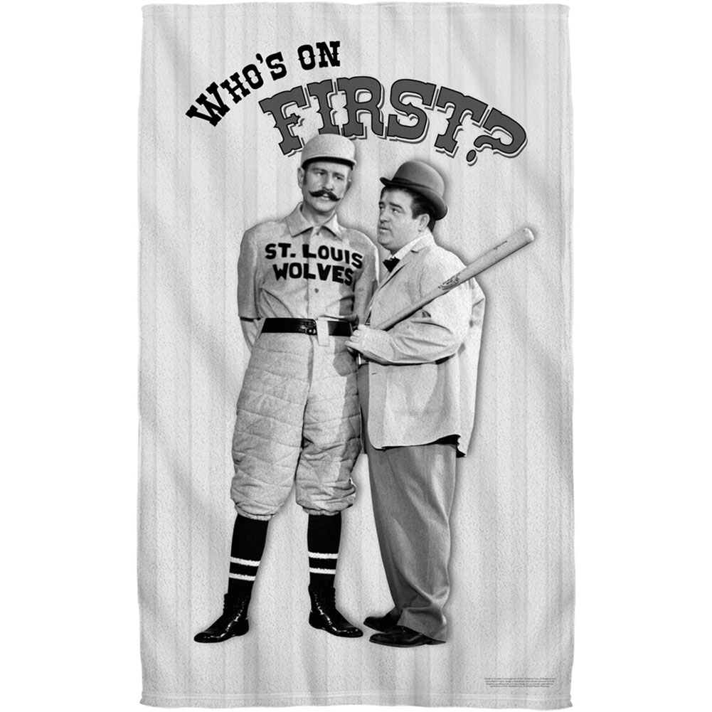 Abbott & Costello Towel
