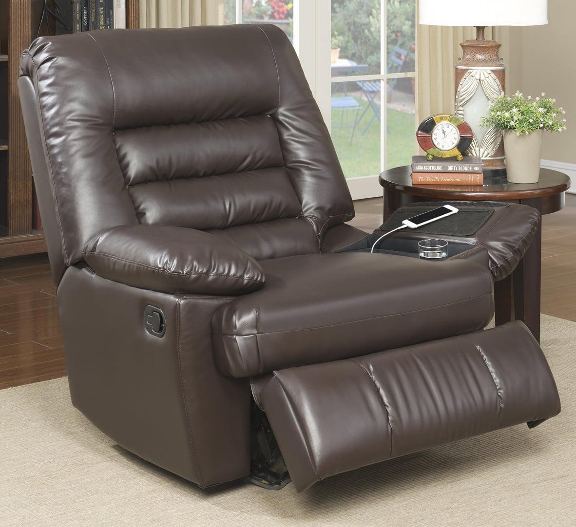 big and tall reclining sofa