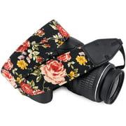 Wolven Cotton DSLR SLR Camera Neck Shoulder Belt Strap For Nikon Canon Pentax Sony Olympus ETC