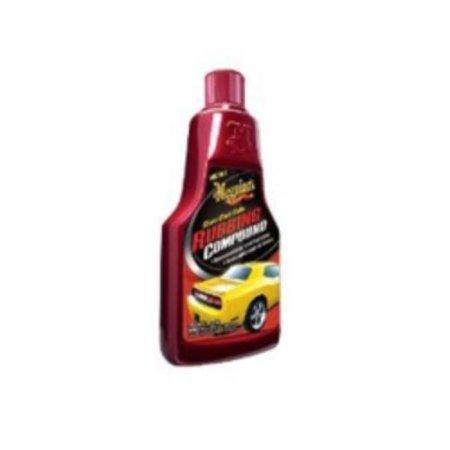 Meguiar's G18016 Clear Coat Safe Rubbing Compound, 16 Fluid (Best Car Polish For Clear Coat)