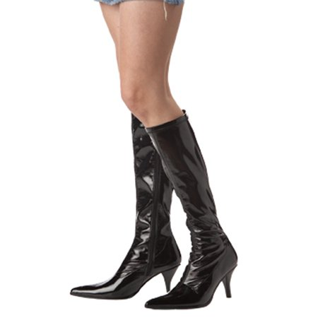 Fashion Boots (Black) - Witch Booties
