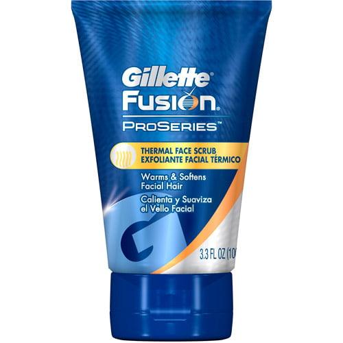 Gillette Fusion ProSeries, Toiletries, Thermal Scrub, 3.3oz