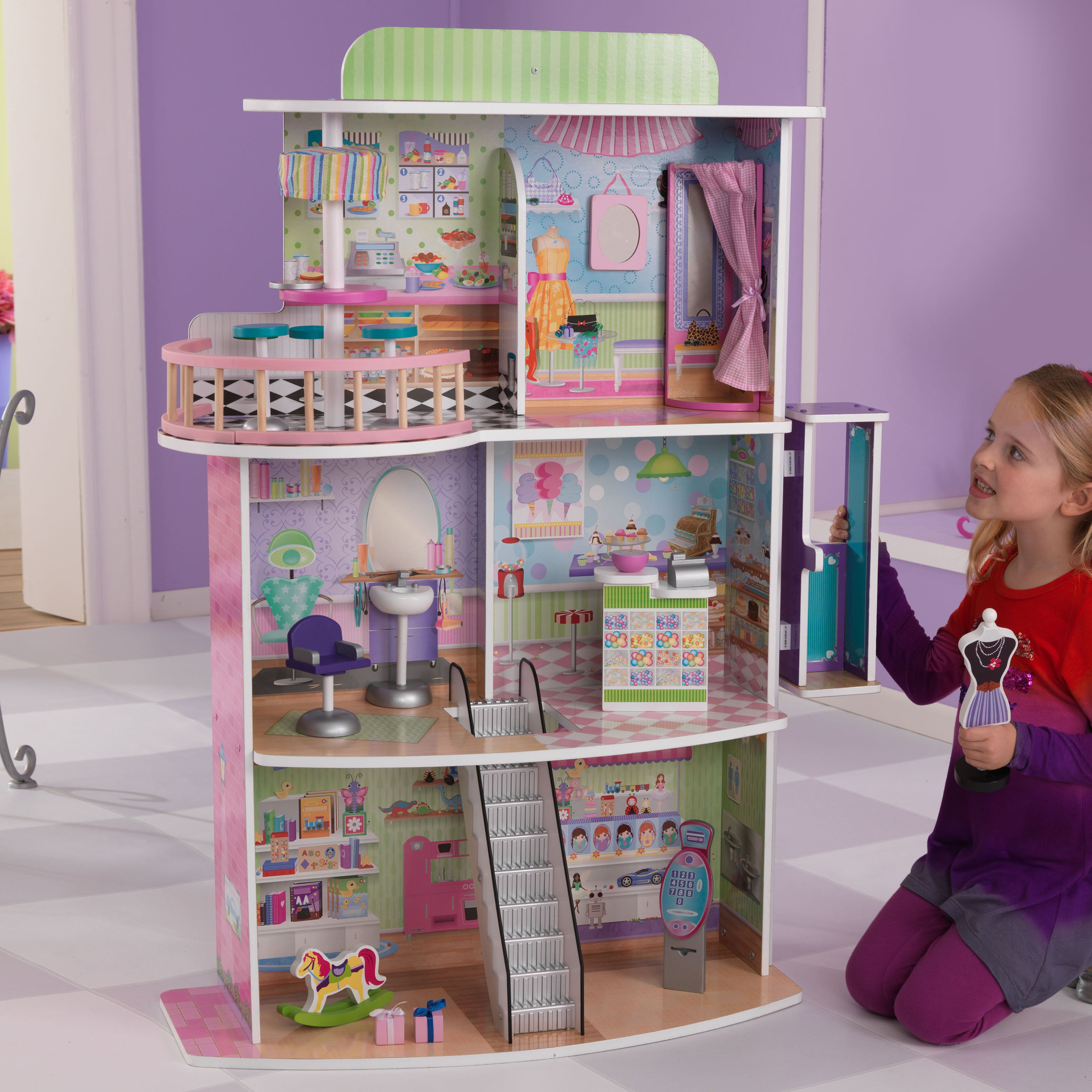 KidKraft Dolls Shopping Center - 65282