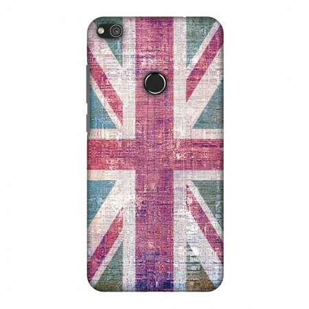 Halloween Dates 2017 Uk (Huawei P8 Lite 2017 Case, Premium Handcrafted Printed Designer Hard Snap on Shell Case Back Cover for Huawei P8 Lite 2017 - UK flag- Wood)