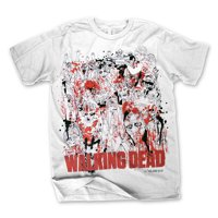 The Walking Dead: Zombies Free Hand Mens T-Shirt | 2XL