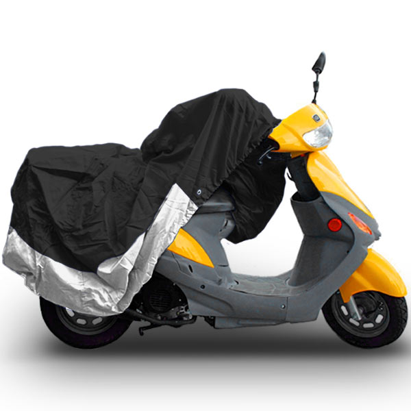 "Superior Travel Dust Motorcycle Scooter Moped Cover Covers : Fits Up To Length 80"" - All Scooter + Mopeds - Yamaha Honda Suzuki Kawasaki Ducati Bmw Aprilia Triumph Buell Motorcycle Covers"