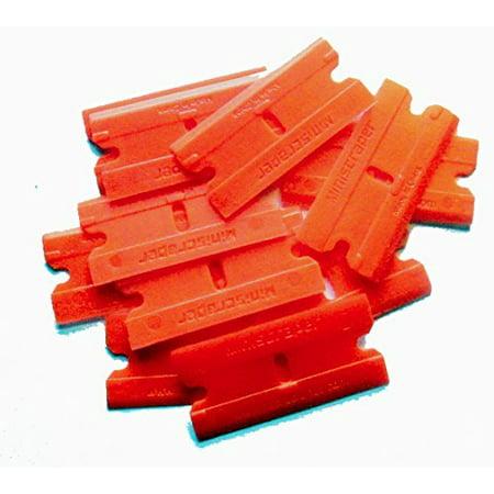 - Plastic Razor Scraper Blades Double Edge  SAFE SCRAPE