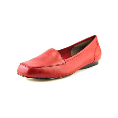 Freedom Synthetic Leather - Array Womens Freedom Leather Square Toe Loafers