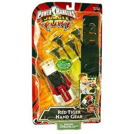 Power Rangers Jungle Fury - Red Tiger Hand Gear - Red Jungle Fury
