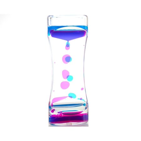 Water Motion Liquid Bubble Timer – Calming Sensory Fidget and Relaxation  Desk Toy - Therapeutic Focus Game for Kids with ADHD, Autism and More -