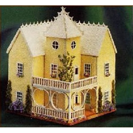 Dollhouse Victorian House 1/144Th Scale