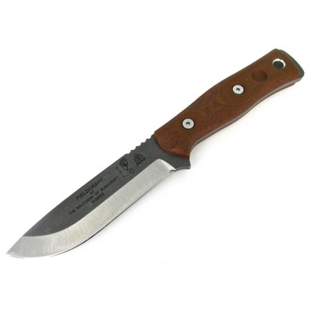 TOPS B.O.B. Brothers of Bushcraft Survival Knife Tumbled