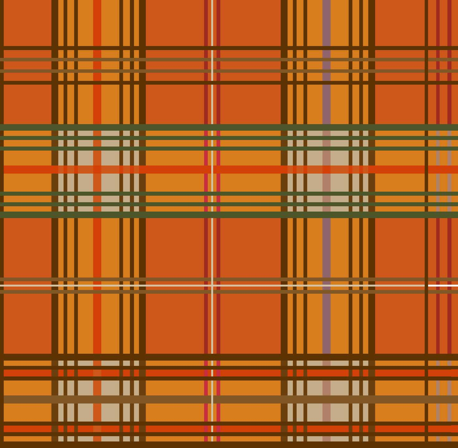 FABRIC EDITIONS, COTTON FABRIC, FAT QUARTER, 18X21, HARVEST PLAID