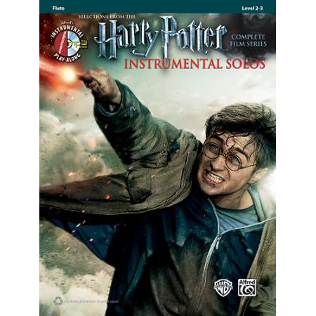 Movie Instrumental Solos Flute - Harry Potter Instrumental Solos : Flute, Book & CD