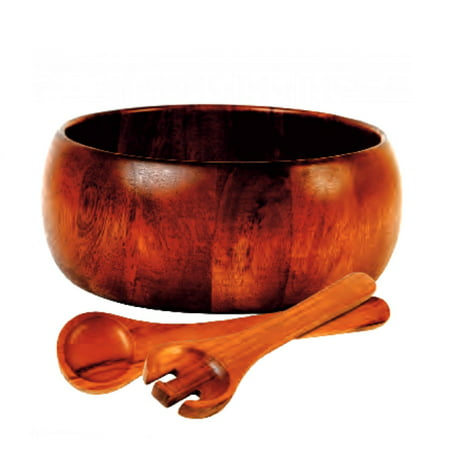 Gibson Home La Roda 3 Pc. Acacia Wood Salad Set (Wood Salad Set)