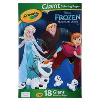 Crayola Giant Coloring Pages Featuring Disney's Frozen, 18 Pages