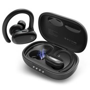 Best Running On Ear Headphones - Wireless Bluetooth 5.0 Earbuds with Microphone, Wireless Sweatproof Review