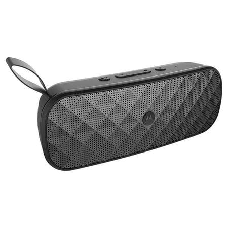 Motorola Sonic Play Bluetooth Speaker with FM Radio - Black