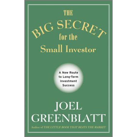 The Big Secret For The Small Investor  A New Route To Long Term Investment Success  Hardcover