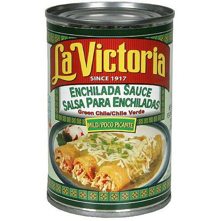 La Victoria Mild Green Chile Enchilada Sauce, 10 oz (Pack of