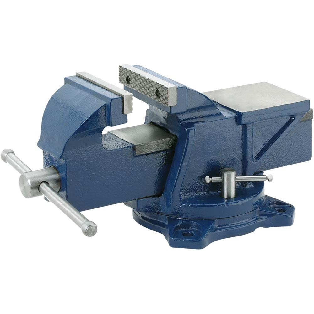 "Grizzly G7058 Bench Vise w  Anvil 4"" by"