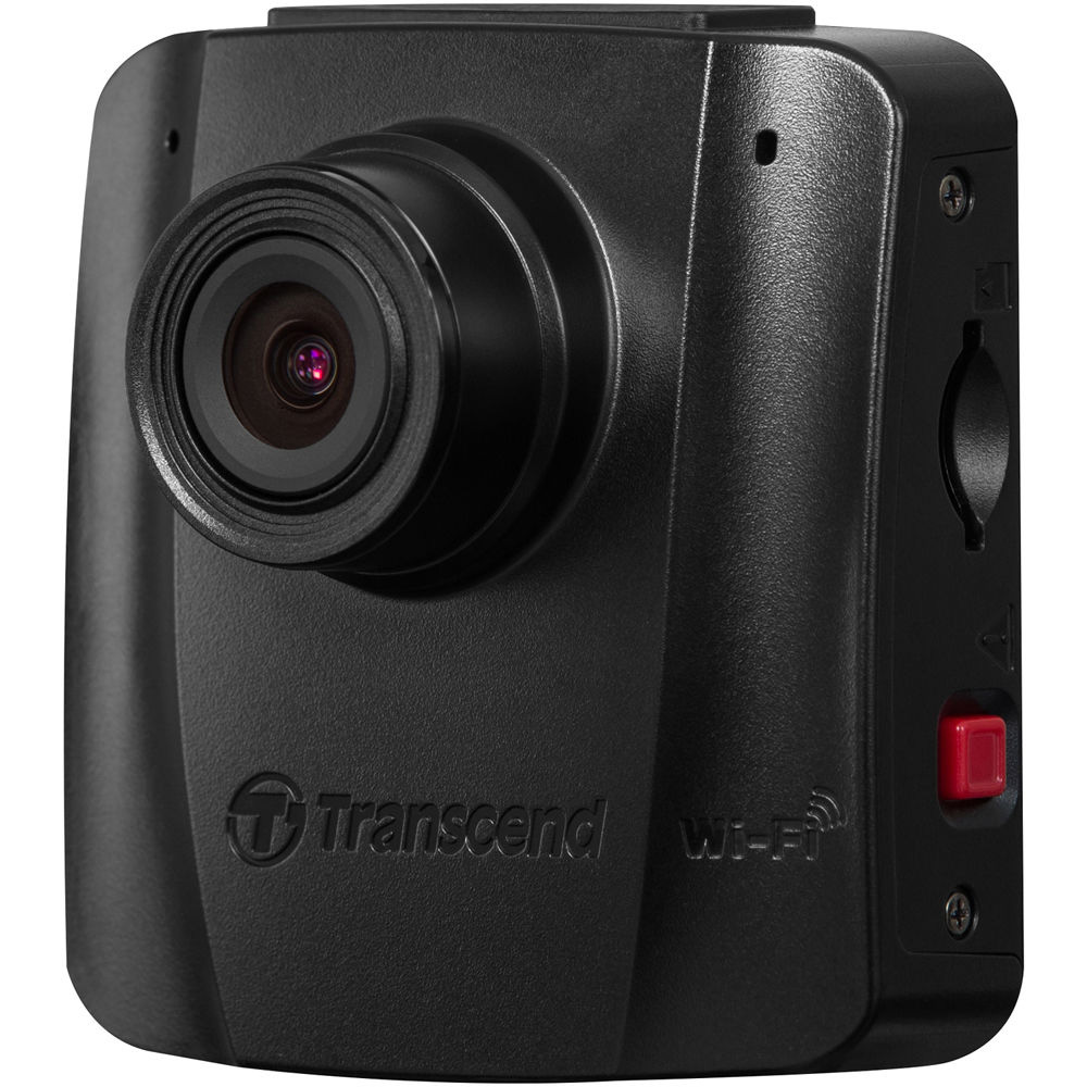 Transcend DrivePro 50 1080p HD Wi-Fi Car Dashboard Video Recorder with Suction Cup