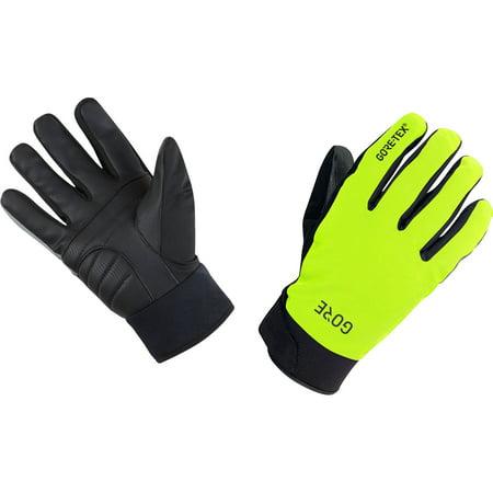GORE WEAR C5 Gore-tex Thermo Gloves Neon Yellow/Black X-Small Gore Tex Under Glove