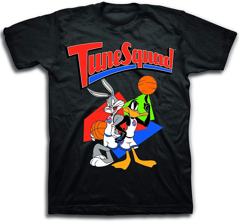 Space Jam Mens Classic Shirt Tune Squad Michael Jordan Bugs