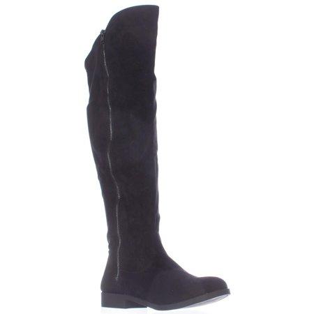 - Womens S.C. Hadleyy Wide Calf Knee High Boots - Black