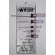 Wilde Tool Sw10/Vp 5-Piece Phillips Screw Driver Set Vinyl Pouch