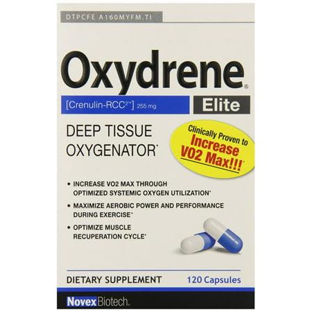 Novex Biotech Company Oxydrene Elite   120 Capsules