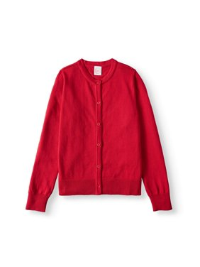 Wonder Nation Girls 4-18 School Uniform Knit Cardigan