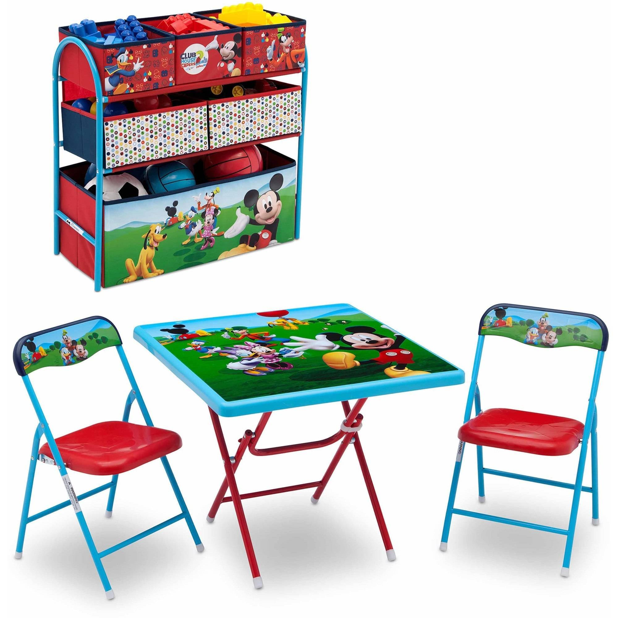 Disney Mickey Mouse, Toddler Children Playroom Solution By Delta Children