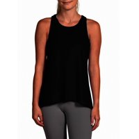 Deals on Yogalicious Womens Tie Back Tank Top