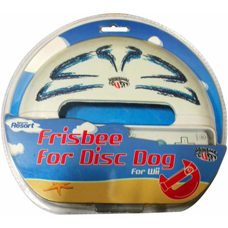 Frisbee For Disc Dog Wii Sports Resort - Nintendo Wii - Dog Bounty Hunter Wig