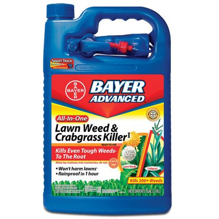 BioAdvanced All-in-1 Crabgrass & Weed Killer