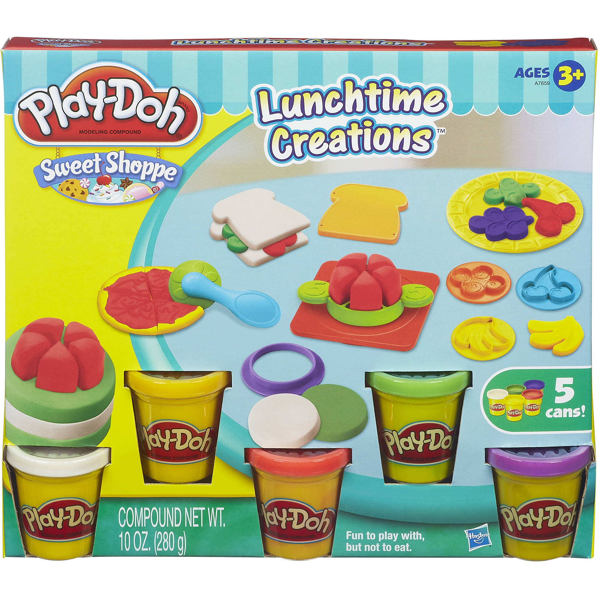 Play-Doh Sweet Shoppe Lunchtime Creations Food Set