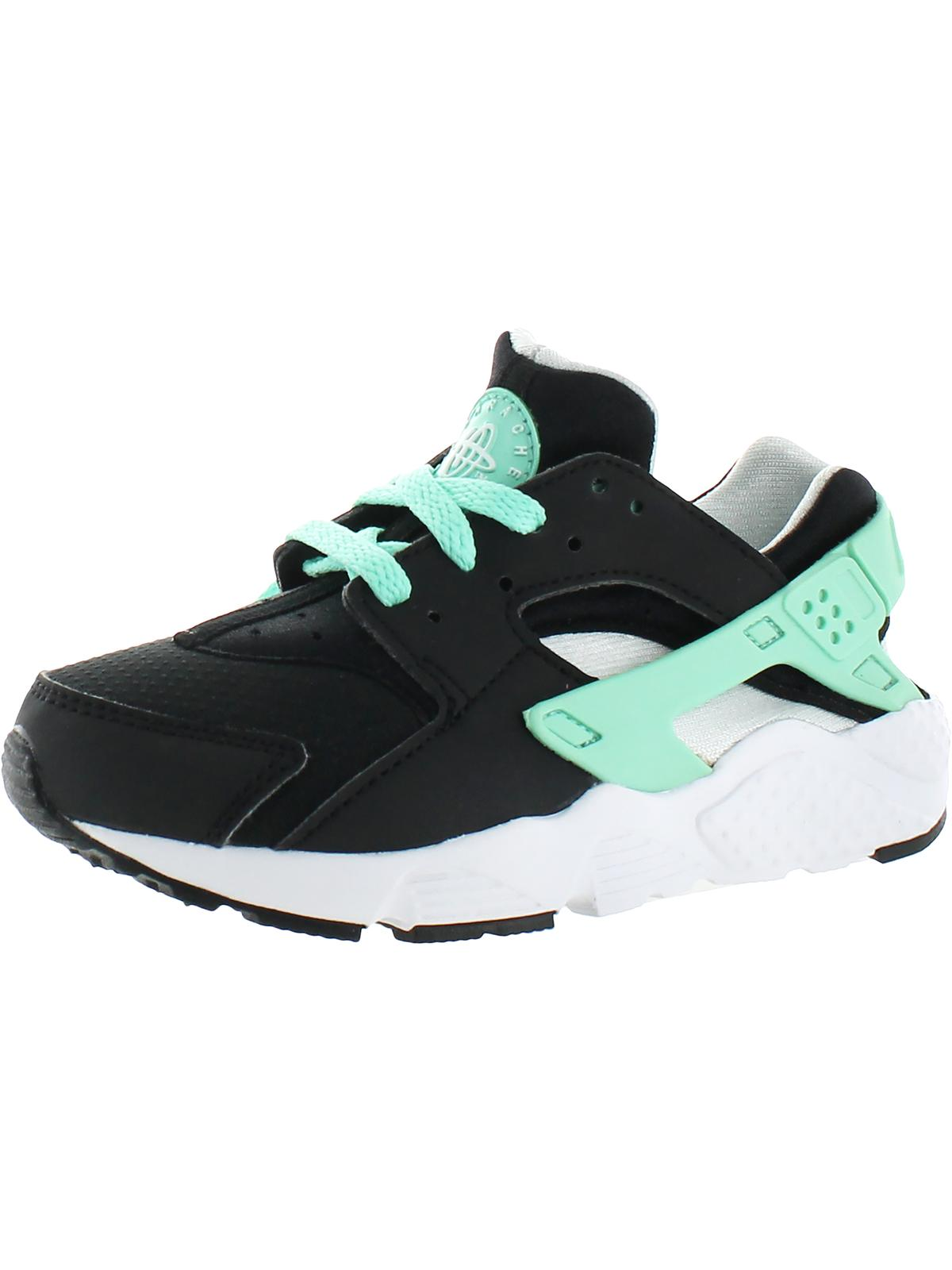 Nike Boys Huarache Run Little Kid Running Shoes Black 10.5 Medium (D)...
