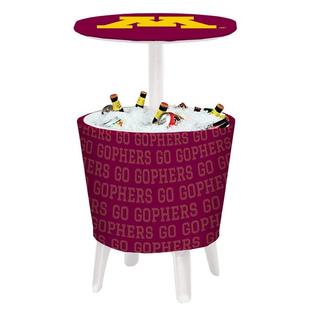 Victory Corps 810024MIN-001 NCAA Event Cooler Table Minnesota - No.001