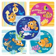 Disney Finding Nemo Magical Seas Stickers - Party Favors - 75 per Pack