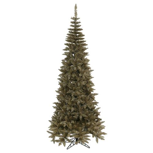 9' Medium Antique Champagne Fir Artificial Christmas Tree - Unlit