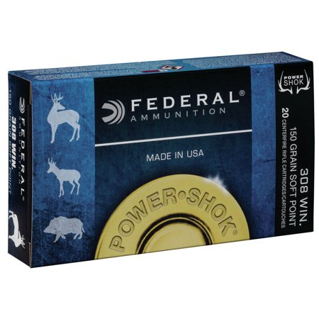 Federal Powershok .308WIN 20 Rounds
