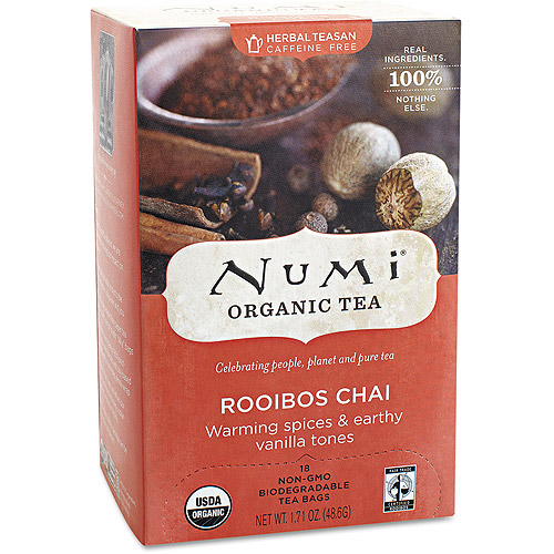 Numi Rooibos Chai Organic Tea Bags, 18 count, 1.71 oz