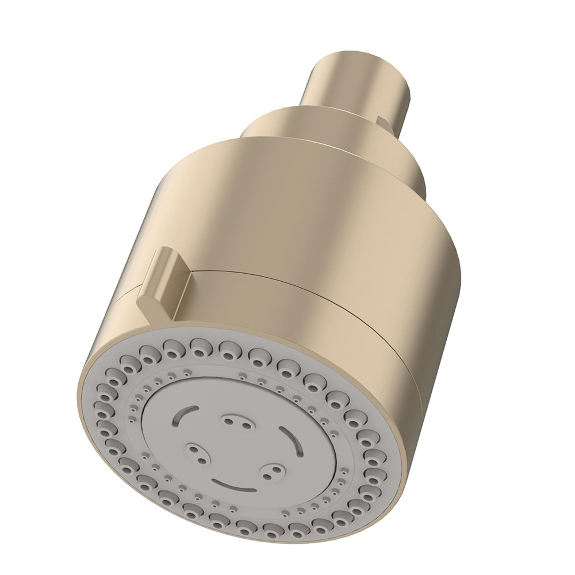 "Dia 3-Spray 3"" Fixed Showerhead in Satin Nickel (2.2 GPM)"
