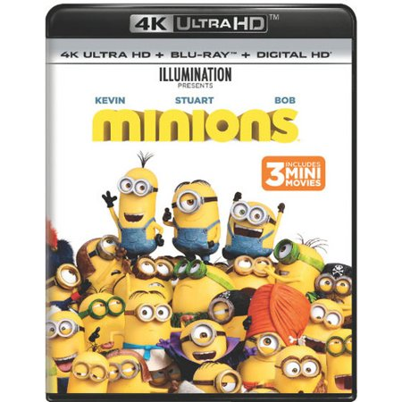 Minions (4K Ultra HD + Blu-ray + Digital - Minion Movie Characters